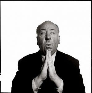 Richard Avedon. Alfred Hitchcock