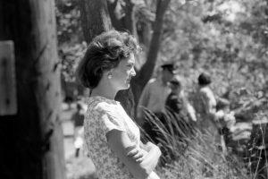 Jackie Kennedy, 1957